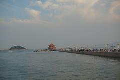 The pier at Qingdao, China