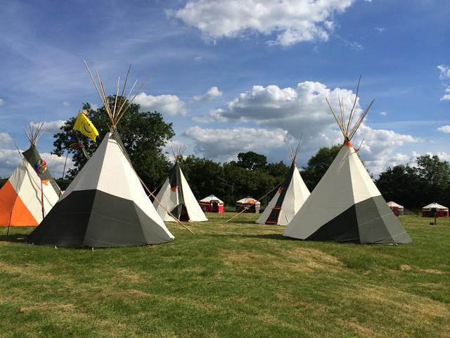Wild Meadow Village - Glastonbury 2014
