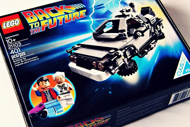 Lego Back to the Future