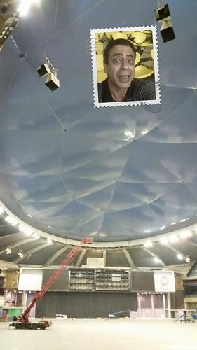 Olympic Stadium Selfie