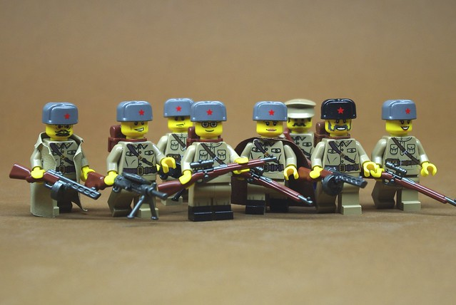 Red Army assault squad
