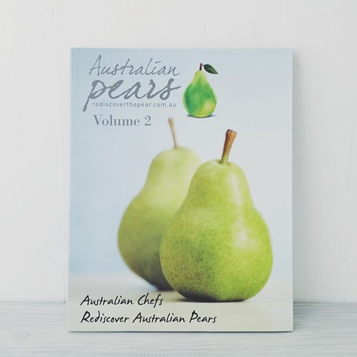 Volume 2 of Rediscover the Pear cookbook is now out (none of my recipes in this one but it's still good ) Available this month from Woolies w purchase of 1 kg of pears.