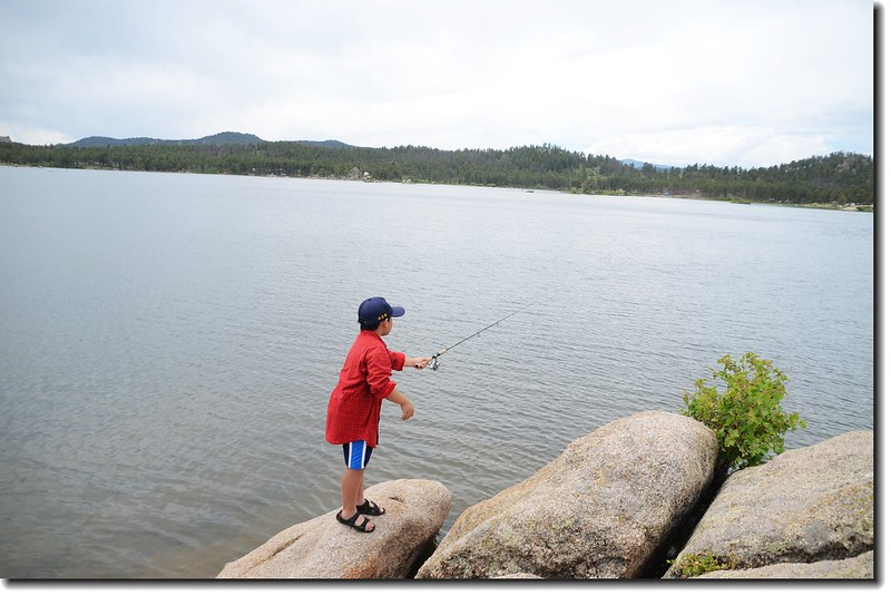 Jacob is fishing well 4