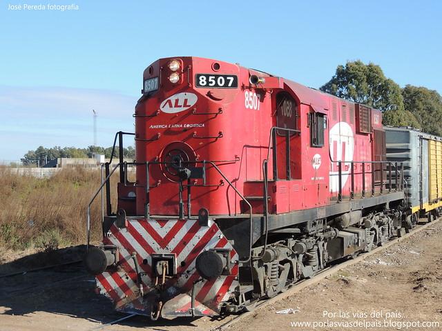 ALCO RSD16 8507 de paso por Rufino...