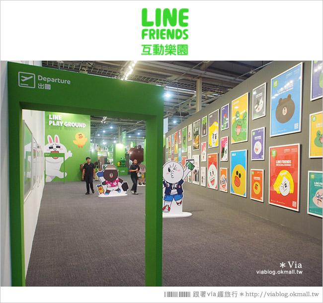 【台中line展2014】LINE台中展開幕囉!趕快來去LINE FRIENDS互動樂園玩耍去!(圖爆多)31