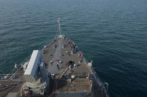 USS Ashland and Embarked Marines Wrap up Amphibious Phase of CARAT Malaysia 2014