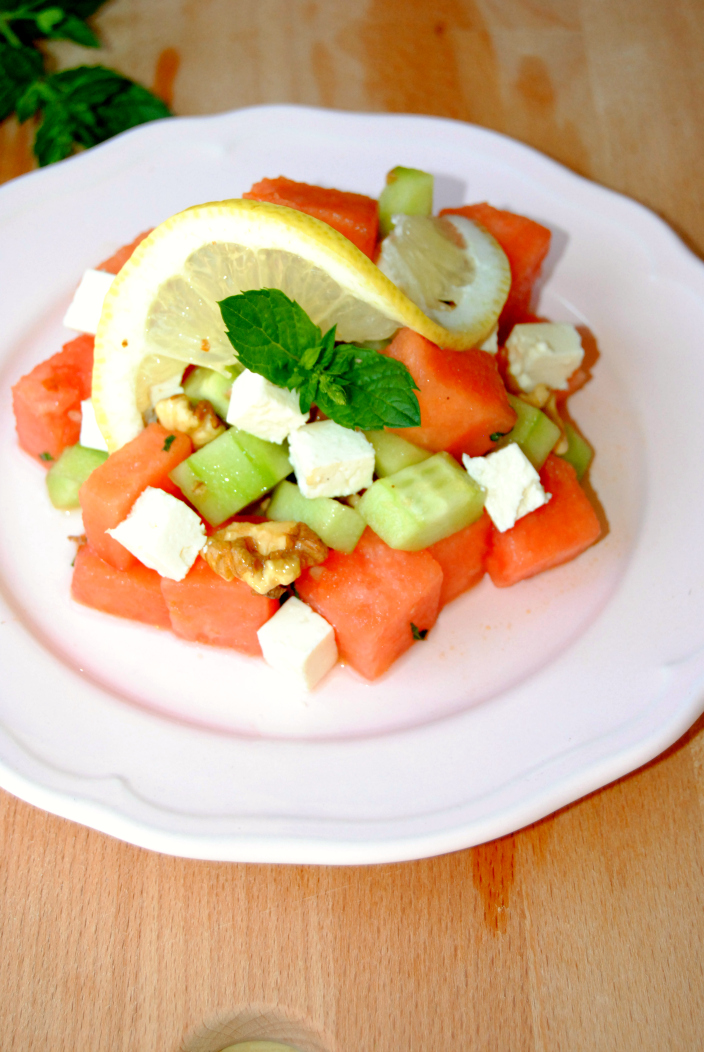 Go Cooking - Watermelon Light Salad (8)