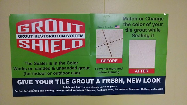 Grout Shields grout sealer, Ft Myers