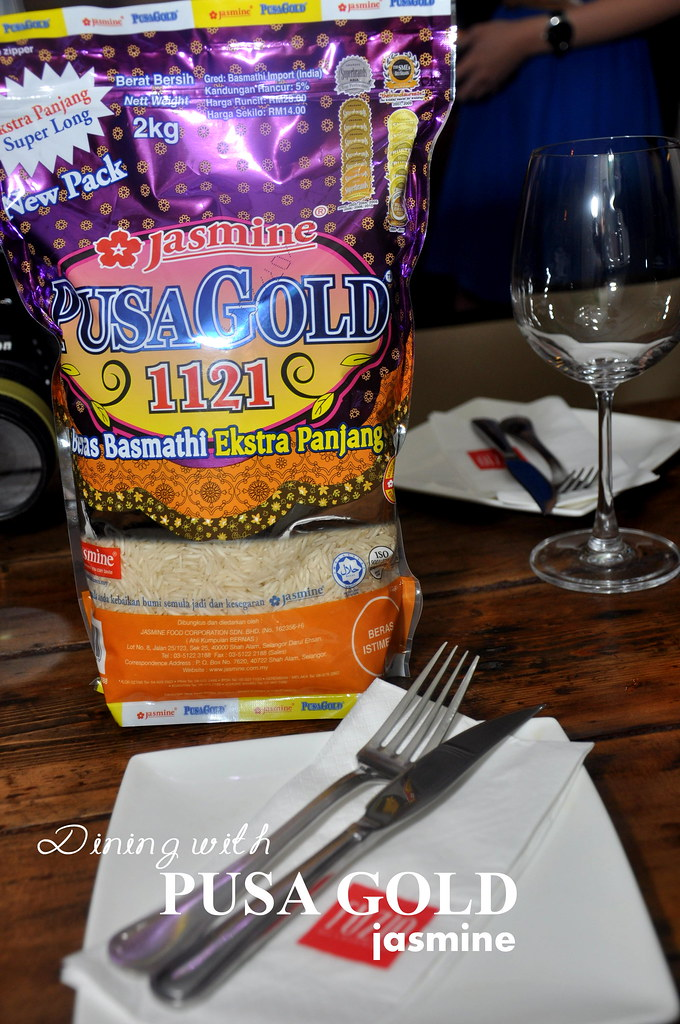 Dining with PUSA GOLD Jasmine