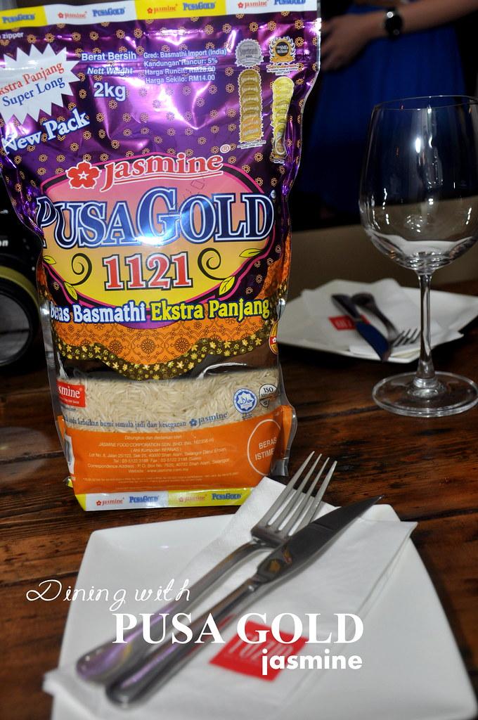 Dining with PUSA GOLD Jasmine