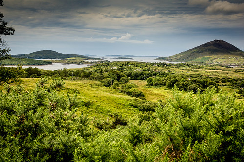 galway landscape bay ie ierland ballynakill