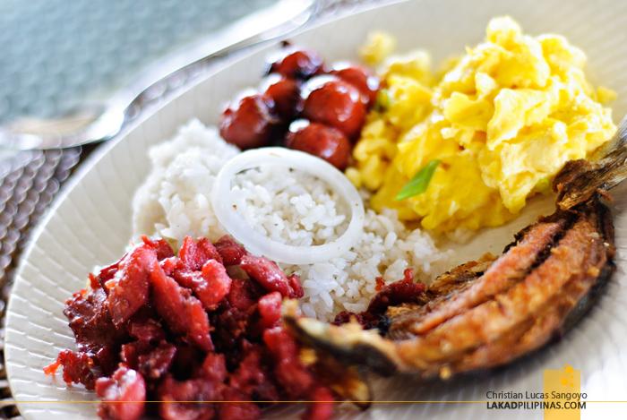 Breakfast at Astoria Bohol Resort