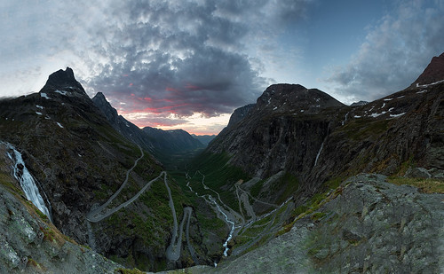 road sunset sky panorama mountains nature norway skyline night clouds canon landscape evening rocks europe day angle cloudy path pano wide troll 1740mm 1740 trolls 6d canon6d