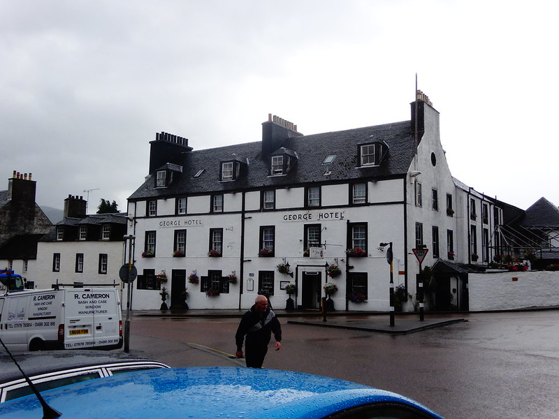 Inverary on a rainy day