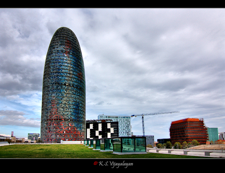 Torre Agbar @ Barcelona