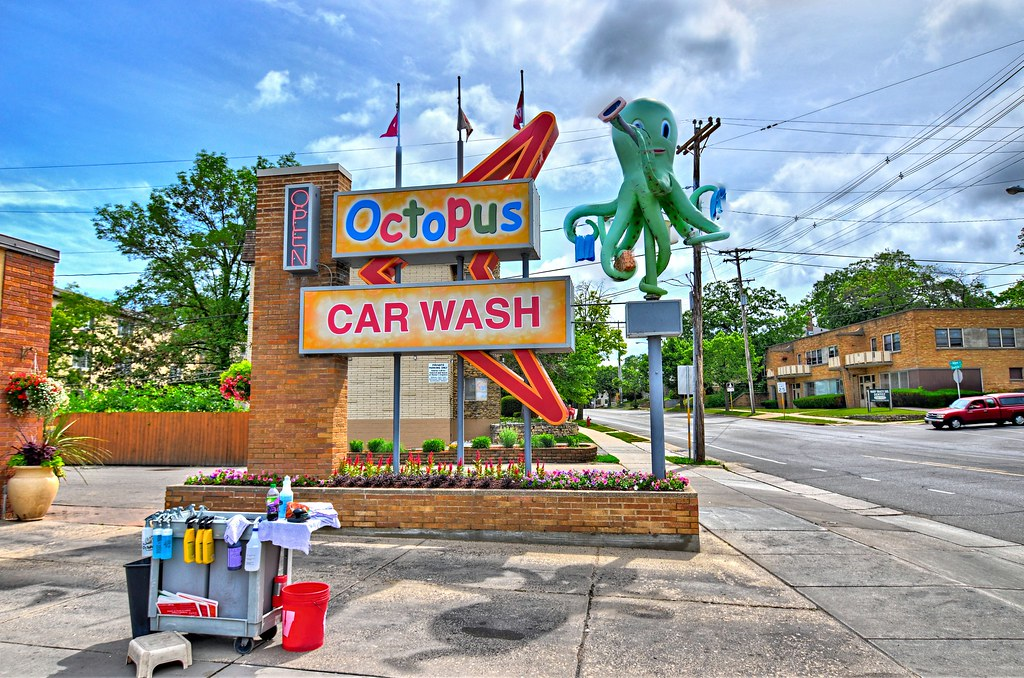 Octopus Cash Wash Googie