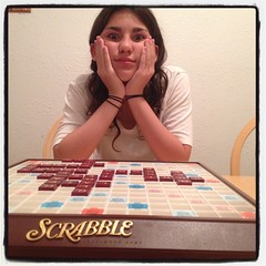 Day 22 - Late-Night Scrabble With THIS Girl