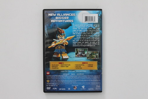 LEGO Legends of Chima: CHI, Tribes, and Betrayals DVD