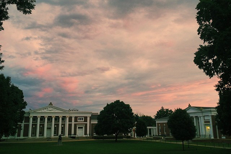 July 15, 2014 - Another beautiful sunset on Grounds.
