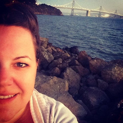Bay Bridge selfie. #sanfrancisco #kategoestocalifornia
