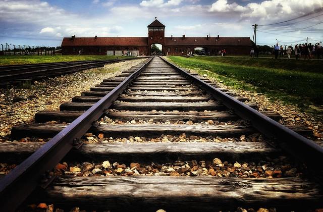 Final destination: Auschwitz Birkenau.  Oswiecim, Krakow, Poland