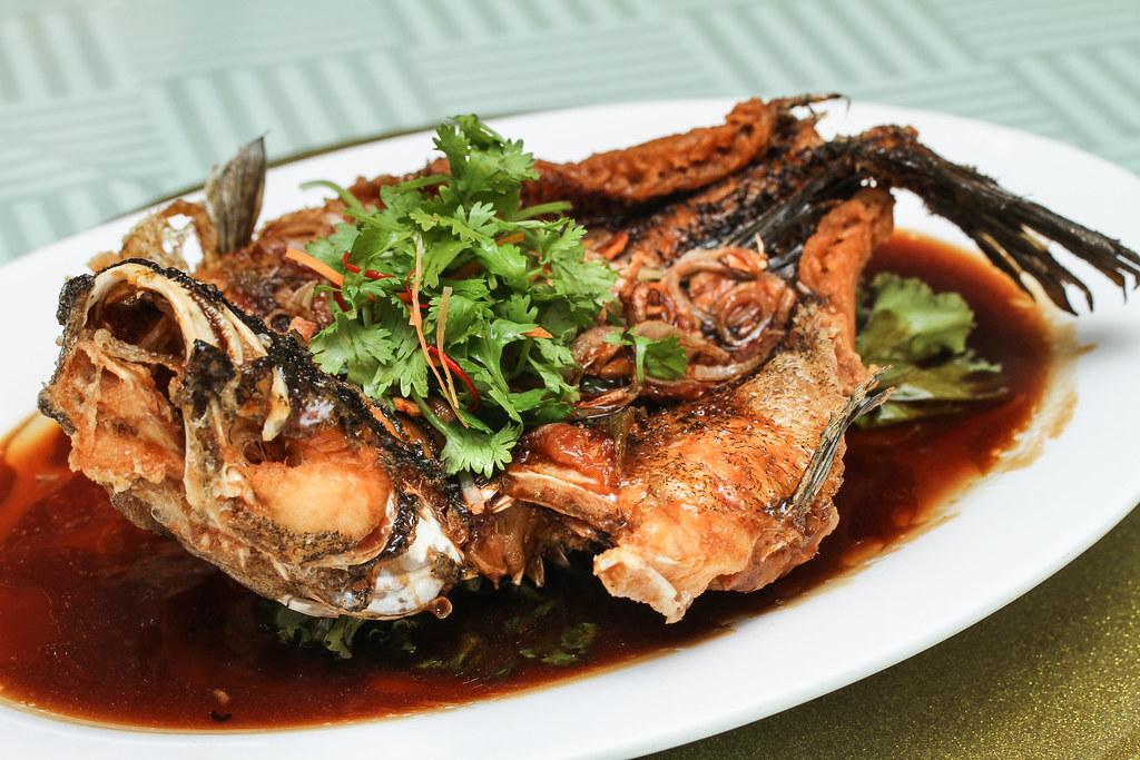 Joyden Seafood: Deep Fried Soon Hock Fish