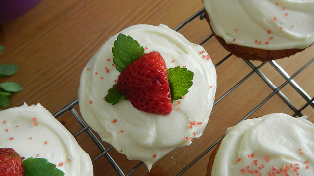Strawberry Cheater Cupcakes 18