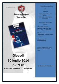locandina word  definitiva Rutigliano 10 luglio 2014