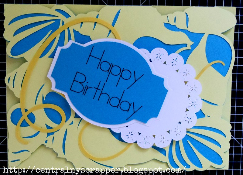 Surprise Birthday Card front