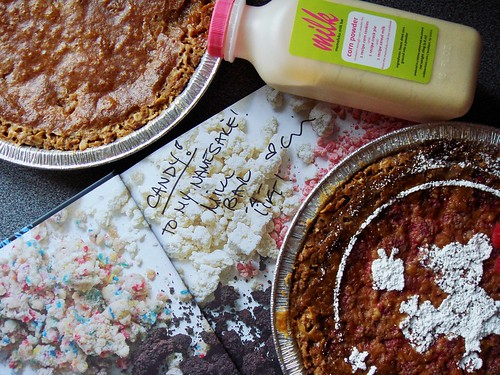Momofuku Crack Pie: Original & Raspberry