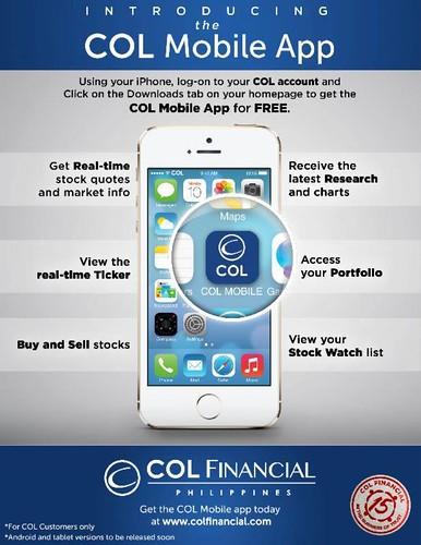 col mobile app