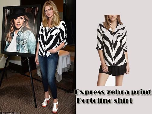 Zebra print shirt: Animal print Trend