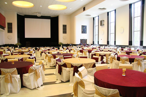 CMU Great Hall - Banquet Rounds