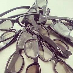 J'oublie toujours mes lunettes 3D a la maison ...