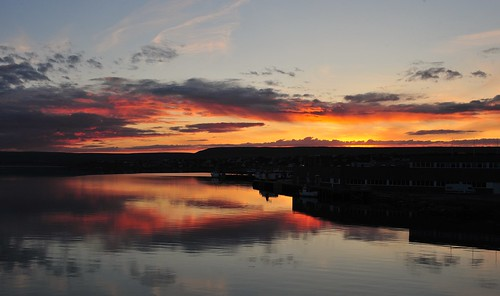 sunset summer reflections nikon arctic explore nikkor midnightsun finnmark vadsø gp1 varanger barentsregionen