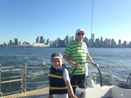 Leaving Vancouver harbour