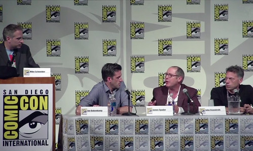 blacklist Comic-Con panel
