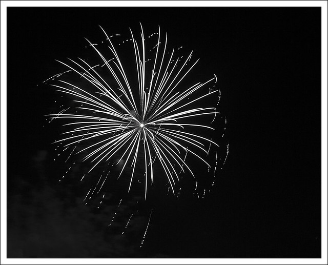 4th of July In Webster Groves 2014 14 BW