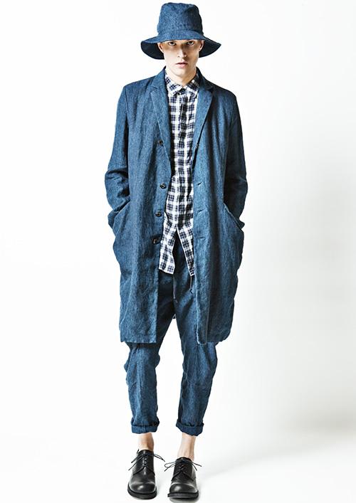 SS15 Tokyo KAZUYUKI KUMAGAI017_Adrian Bosch(Fashion Press)