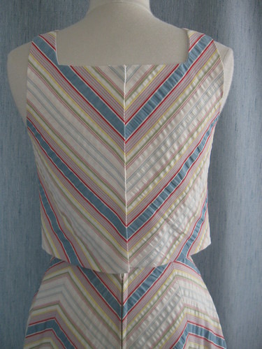 Back of top bias stripe