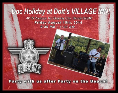 Doc Holiday 8-15-14