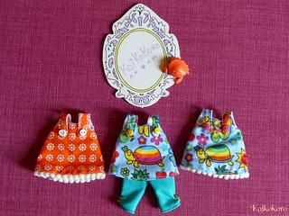 Robe et ensemble Hapiness et robe orangeade2