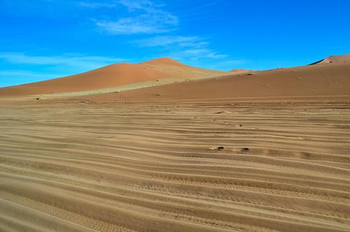 Sand road to Sossusvlei, Namibia