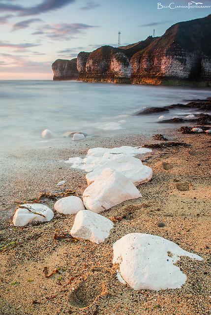 white rocks flamborough head