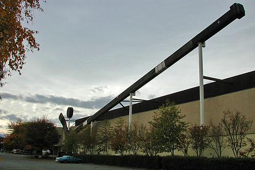 World's Largest Hockey Stick & Puck, Duncan, Vancouver Island, British Columbia, Canada