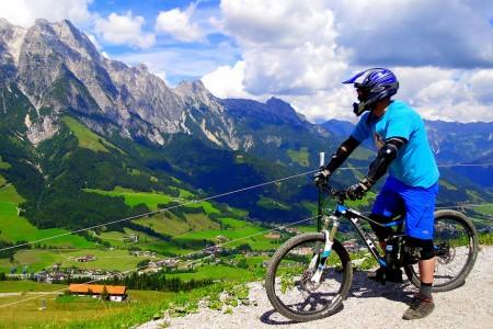 Bikepark Leogang: po trati Světového poháru