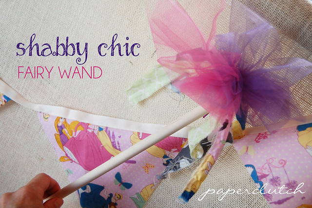 Shabby Chic Fairy Wand