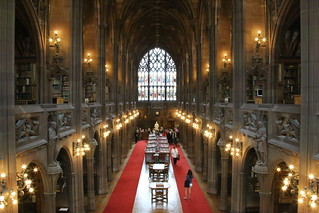 John Rymans Library, VIP access - Manchester.