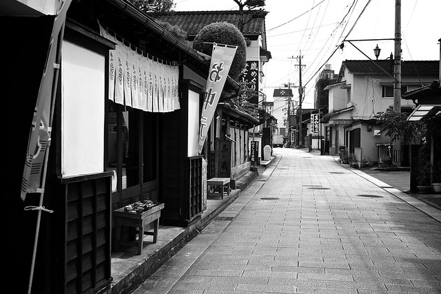 Old Street in Hitoyoshi, Canon EOS KISS X7, Tamron AF 17-50mm f/2.8 Di-II LD Aspherical