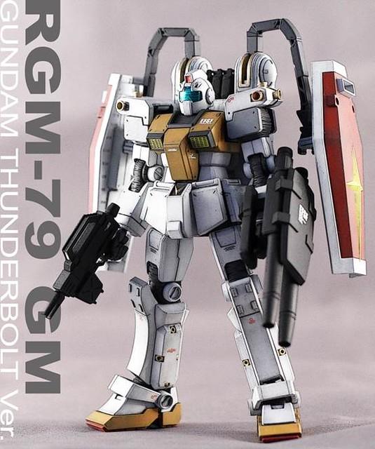 【玩具人投稿】[范姜吉姆]THUNDERBOLT GM模型改造分享